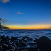 Dusk-Along-the-Ke'e-Beach-Napali-Coast-Kauai-Hawaii-Stars-Clounds-Sunset_D814017