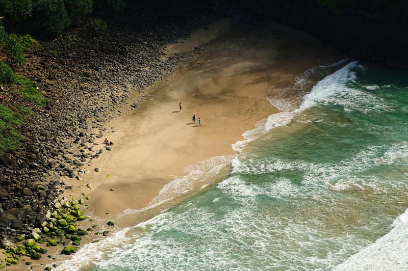 Secluded Beach in Kauai