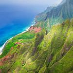 """Above the Napali Coast""  Kauai, Hawaii"