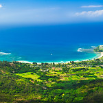 """Hanalei Bay from the Sky"""