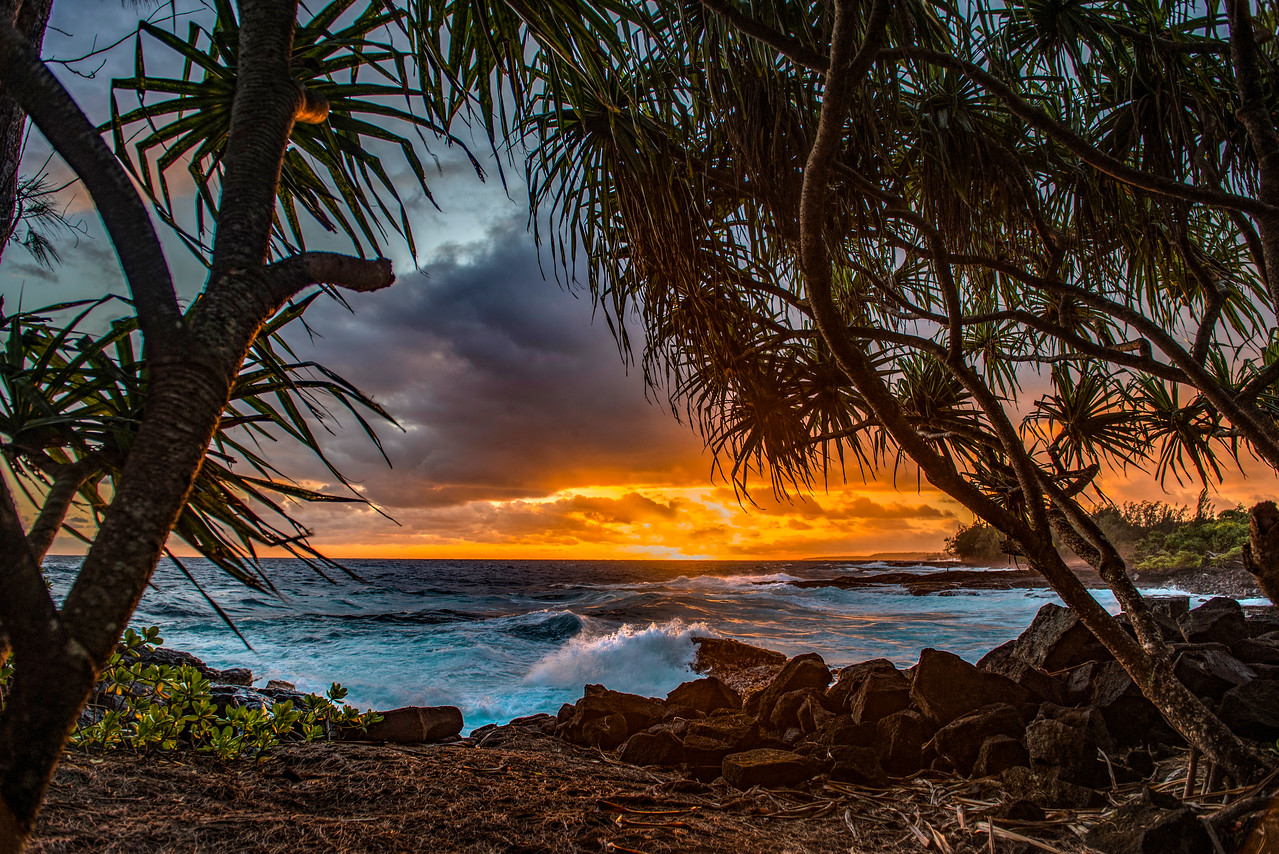 Hawaiian Paradise Sunrise