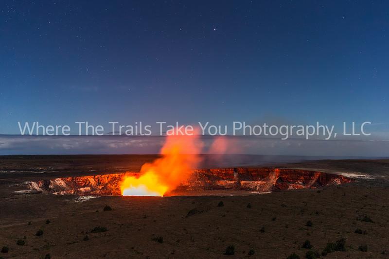 1,  Kilauea's Glow