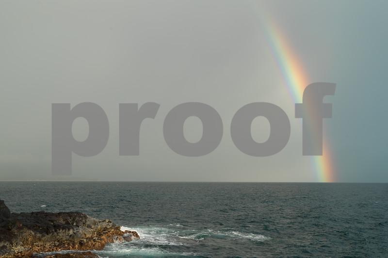 Queens Bath Rainbow, Kauai, HI