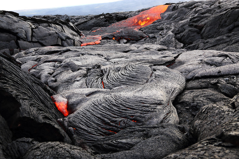 Lava Flow - Kalapana, HI