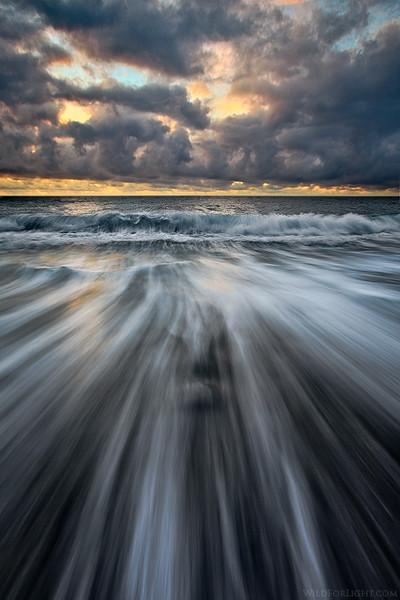 """Face at Black Sand Beach"" - Hawaii"