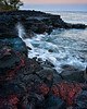 Keawakaheka Lava Sunset<br /> <br /> Sunset over the lava rock at Keawakaheka Bay<br /> Big Island, Hawai'i, USA
