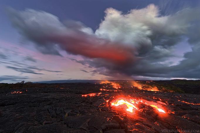 """""""Kalapana Twilight"""" - Hawaii"""