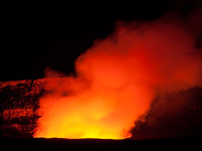 Halema'uma'u Glow, Hawai'i Volcanoes National Park