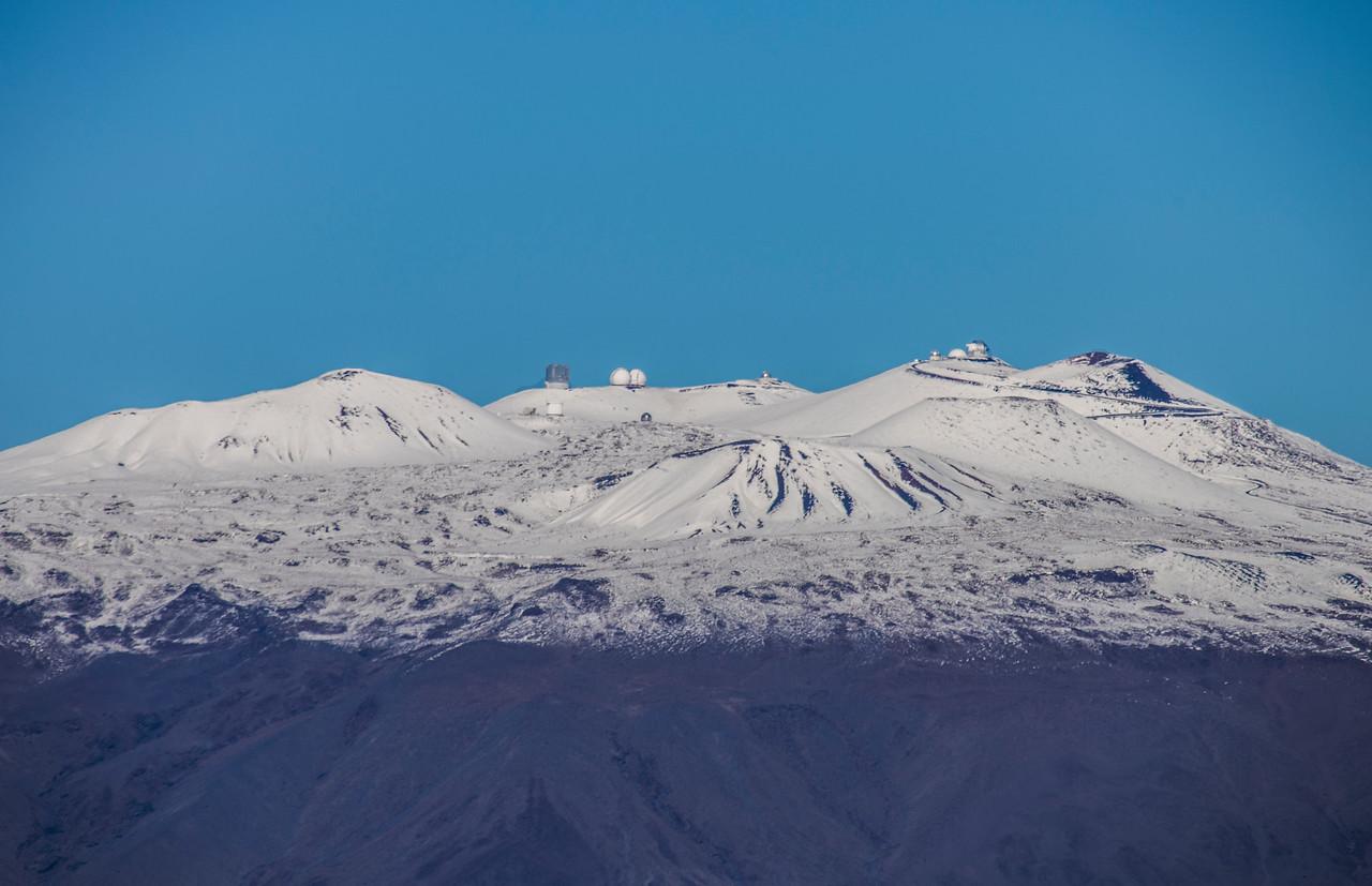 Snowy Mauna Kea