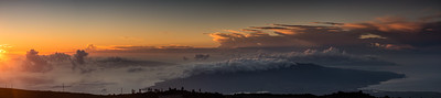 Sunset from Haleakala.