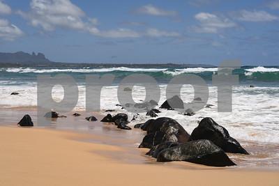 Afternoon Beach, Kauai, HI