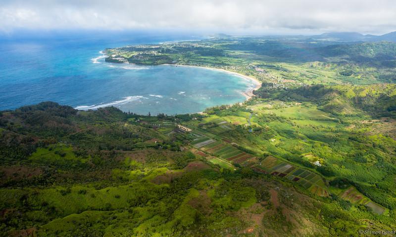 Hanalei Bay , Kauai