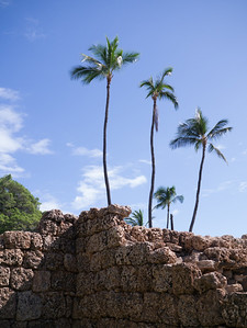 The Old Fort along the Lahaina Historic Trail in Lahaina, Maui, HI.