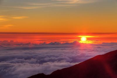 Sunrise - Haleakala National Park - Maui, HI