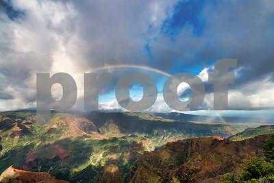 Double Rainbow, Kauai, HI