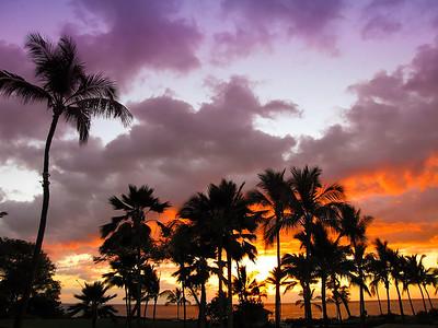 Kaui, Hawaii beach near the resort side of the island.