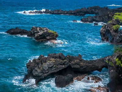 Lava Arches, Wainapanapa State Park, Maui