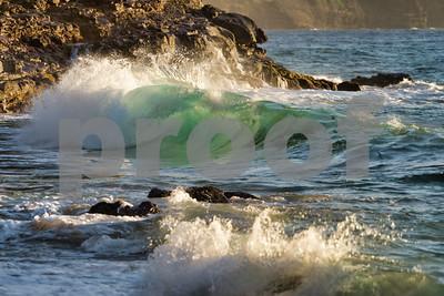 Sunset Waves, Kauai, HI