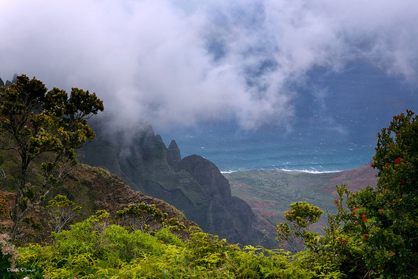 Kalalau Valley on the NaPali Coast
