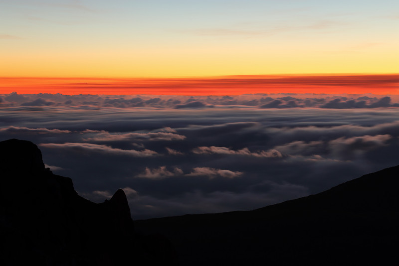 Dawn - Haleakala National Park - Maui, HI