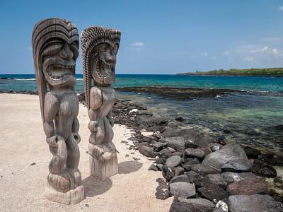 Ki'i, Pu'uhonua O Honaunau NHP