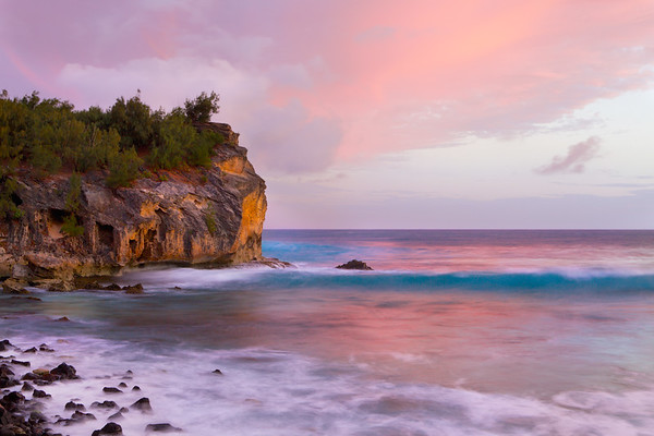 Twilight At Shipwreck Beach