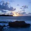 Long Exposure Sunrise on Shipwreck Beach III