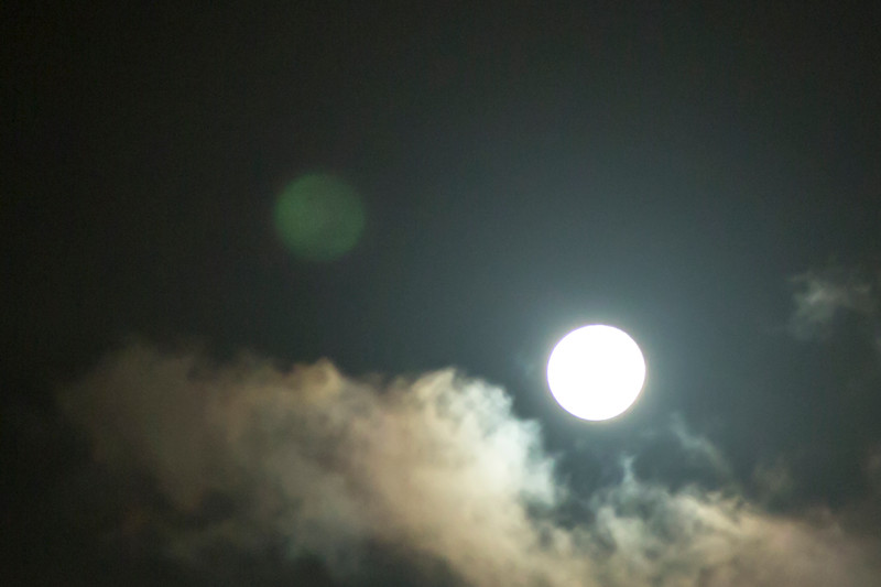 Double Reflected Moon VII
