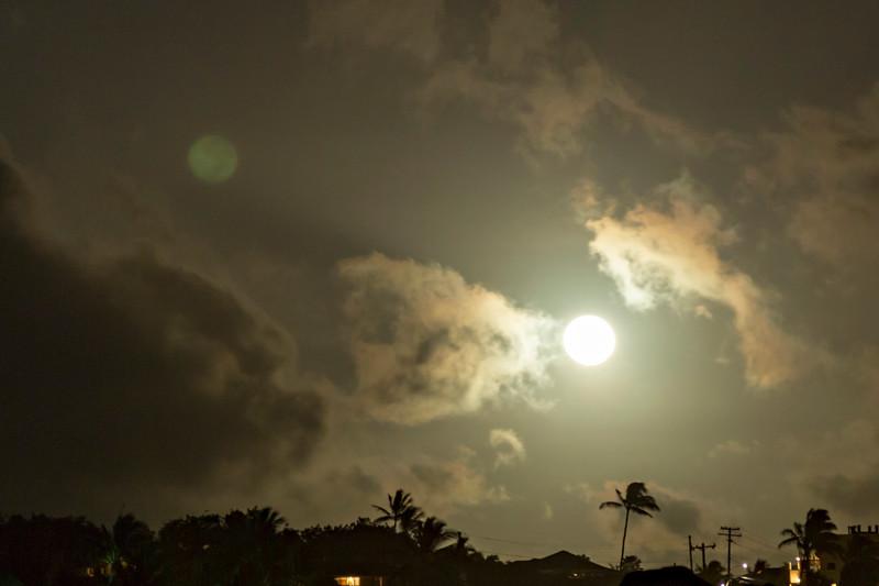 Double Reflected Moon V