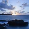 Long Exposure Sunrise on Shipwreck Beach II
