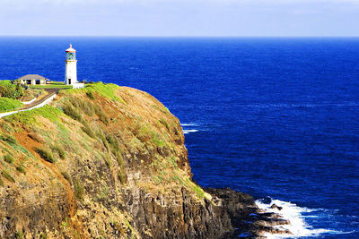 Kilauea Lighthouse, nothernmost point of the Hawaiian islands, Kauai.