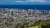 View of Honolulu from Tantatalus, Oahu, Hawaii