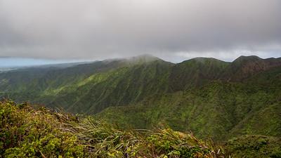 View from Aiea Ridge Trail, O`ahu
