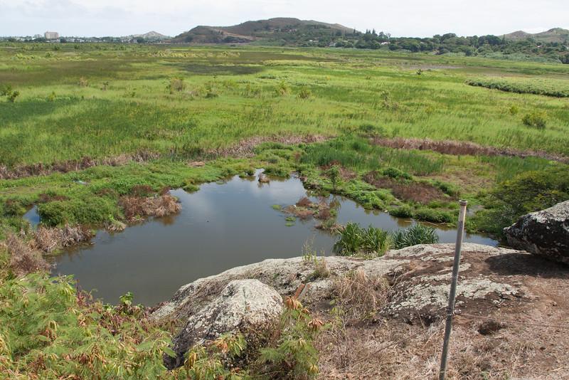 Field trip to Na Pohaku o Huawahine site, Oahu, Hawaii
