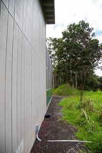 Alala aviary at Keahou Bird Conservation Center, Hawaii
