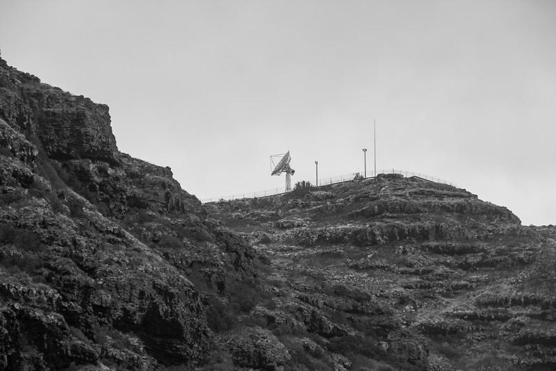 Tracking station at Ka`ena Point, O`ahu, Hawai`i