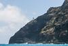 Makapu`u Lighthouse as seen from Makapu`u Beach, O`ahu, Hawai`i