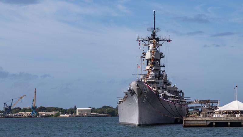 Battleship Missouri, Pearl Harbor, O`ahu, Hawai`i