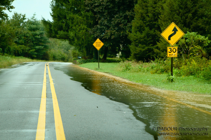 Area roadways can't handle all the rain