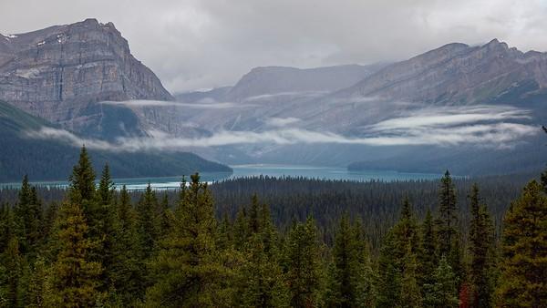 Hector Lake - Banff Park