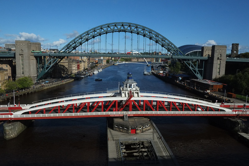 High Level Bridge, over the River Tyne