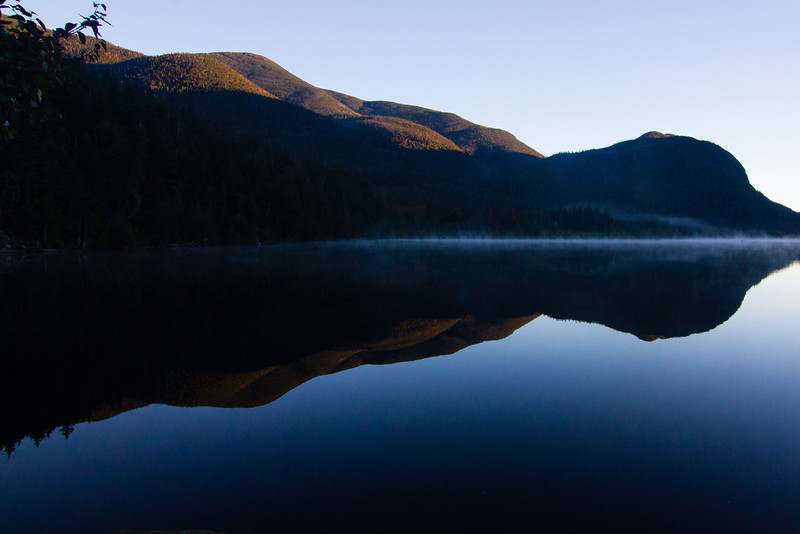 Mist on Lake Colden.