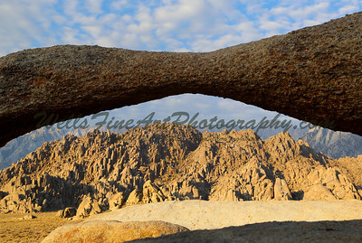 Alabama Hills through the Lathe