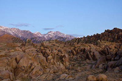 Alabama Hills looking northwest
