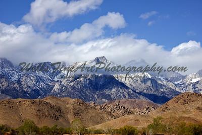 Lone Pine peak from 395
