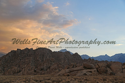 Sunset Alabama Hills