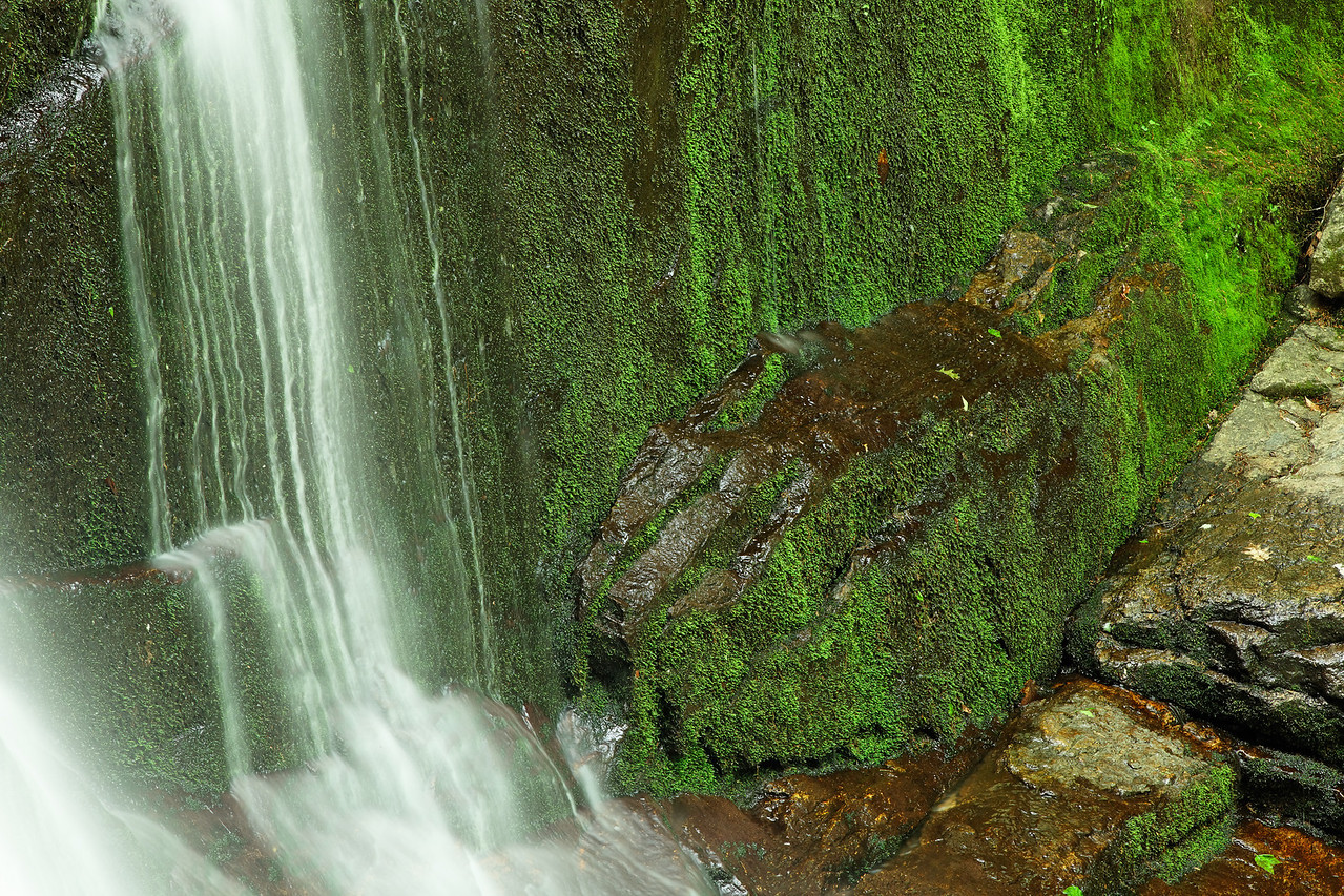 Chapel Brook Falls detail