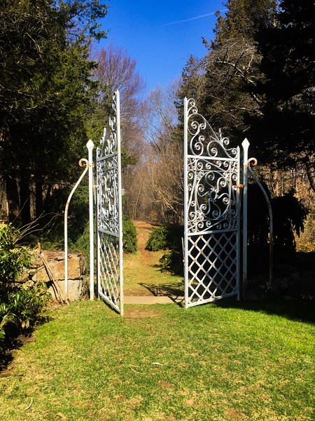 #1<br /> Long Hill<br /> 2.46 miles<br /> The challenge begins through these gates...