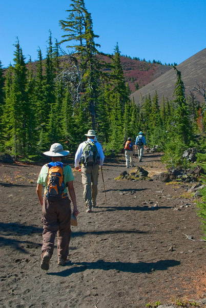 Trail to Yapoah Crater