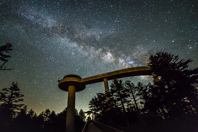 Milky Way at Clingmans Dome III